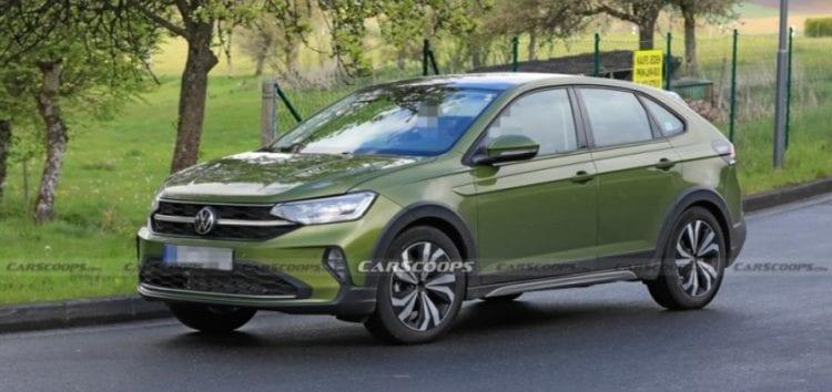 Volkswagen Taigo сфотографували без камуфляжу