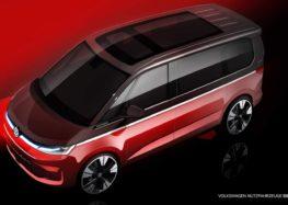 Volkswagen показав перед прем'єрою свій новий Multivan
