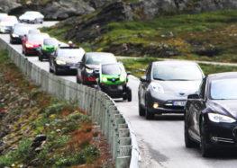 У Норвегії не стимулюватимуть всі електромобілі