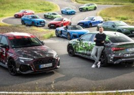 Audi показала новий RS3