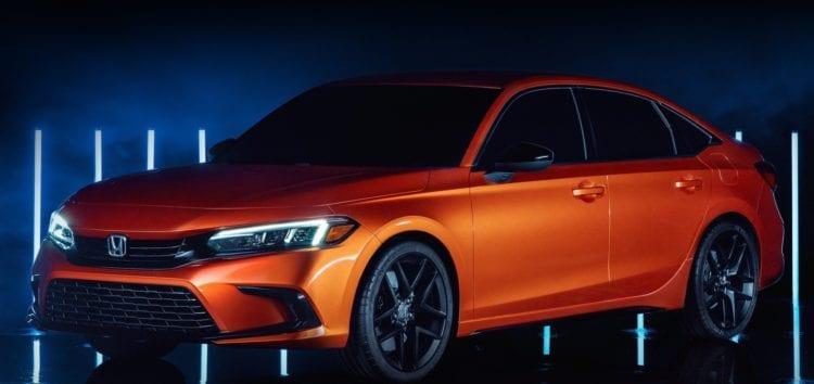 Honda показала новий Civic в седані
