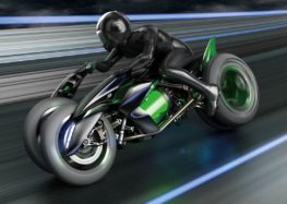 Kawasaki планує випускати електромотоцикли
