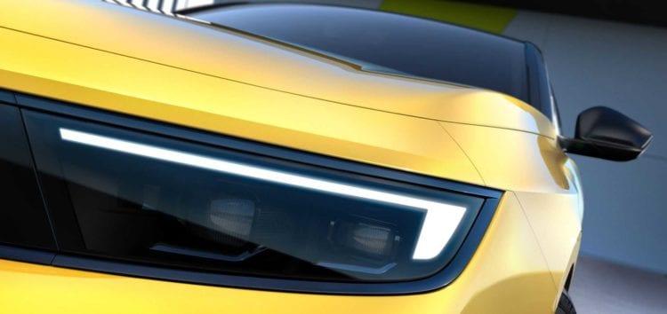 Opel представила перші фото моделі Astra 2022