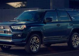 Тойота представила нову версію позашляховика 4Runner