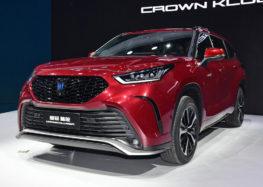 Перші власники Toyota Crown Kluger отримають свої автомобілі вже зовсім скоро