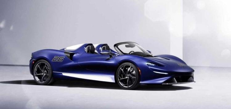 McLaren Elva получил инновационное лобовое стекло