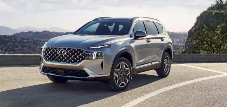 Hyundai представила гібридний Santa Fe