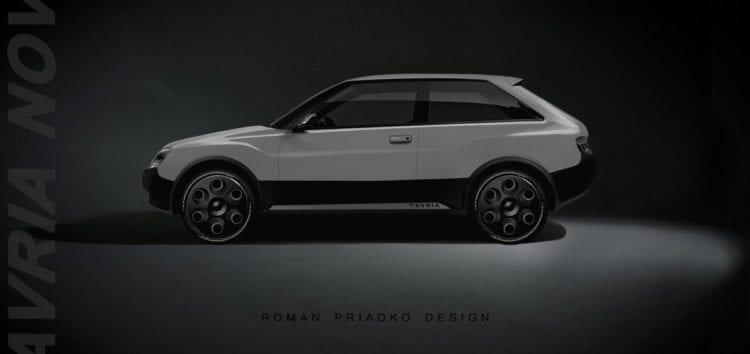 Дизайнер показав якою б могла бути Tavria Nova у 2021 році