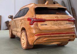 Створили дерев'яну копію Hyundai Santa Fe