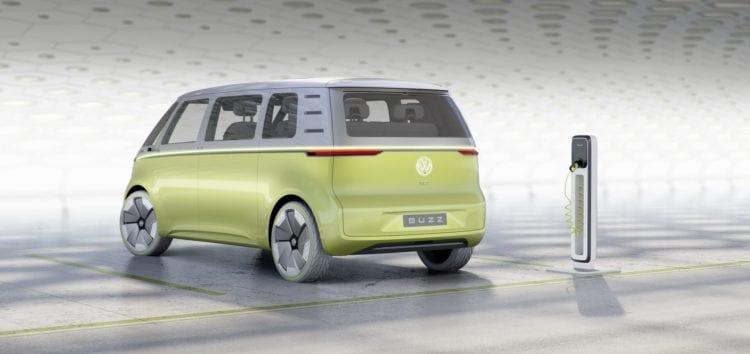 У мережі показали фото салону нового Volkswagen ID Buzz