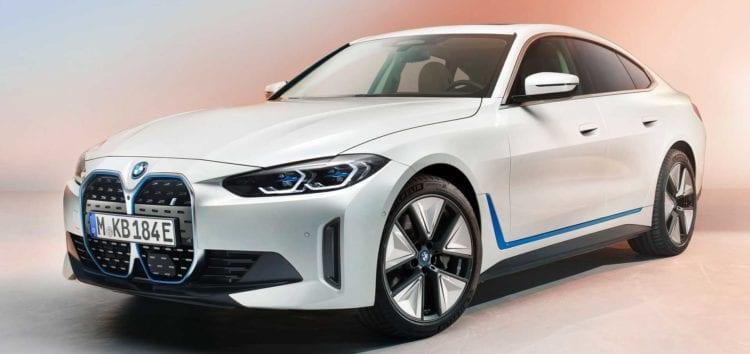У мережі з'явилися фото салону BMW i4