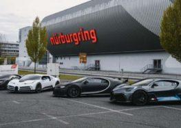 Bugatti протестував відразу чотири свої новинки