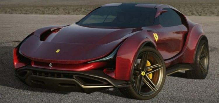 Художник показав своє бачення кросовера Ferrari