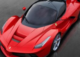 Ferrari проводить випробування свого гібридного суперкара з V6