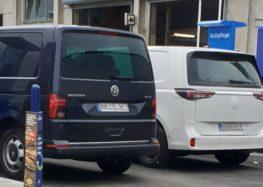 Електричний Volkswagen ID. Buzz тестують без камуфляжу