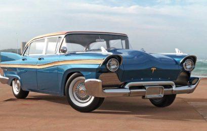 В інтернеті показали Tesla Model S 1957 року