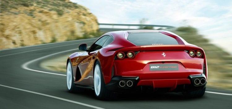 Ferrari 812 Superfast разогнался до 331 км/ч на немецком автобане