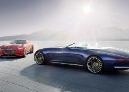 Новим Бетмобілем стане Mercedes-Maybach 6 Concept