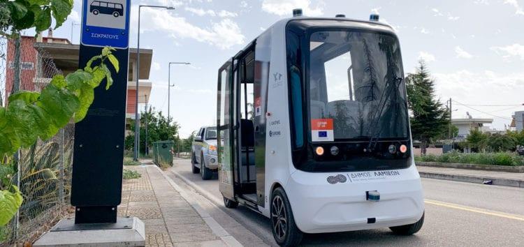 Эстония запустит беспилотные водородные микроавтобусы