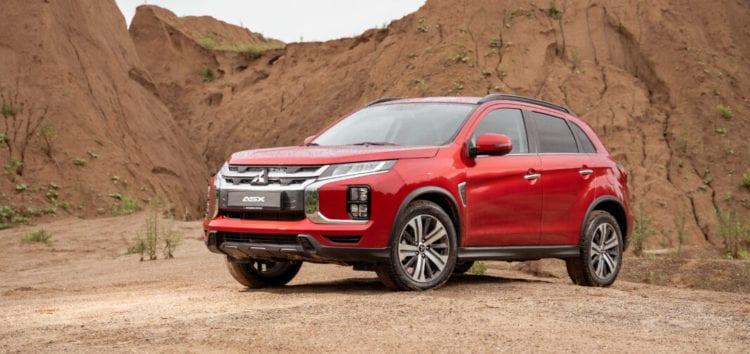 З'явились нові модифікації Mitsubishi ASX