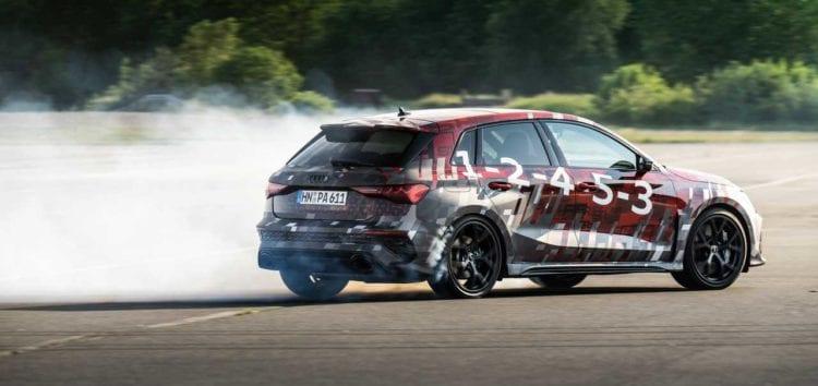 Оновленна Audi RS 3 буде з режимом дрифту