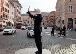 Римська влада встановить датчики для визначення пішоходів