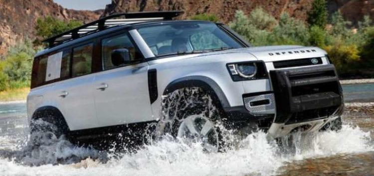 Стартували тестування водневого Land Rover Defender