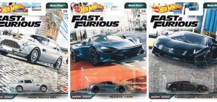 Hot Wheels випустила серію машинок з «Форсажу» (відео)