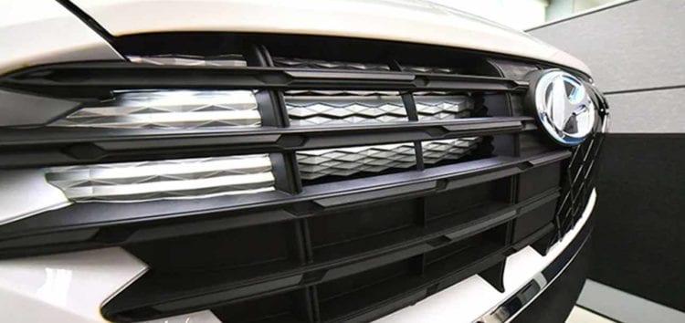 Машини Hyundai отримають решітку, що світиться