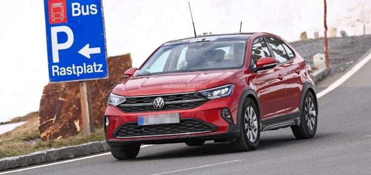 Volkswagen Taigo помітили без маскування