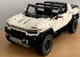 Lego зібрала електричний Hummer (відео)
