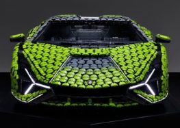 LEGO зробила копію Lamborghini Sián