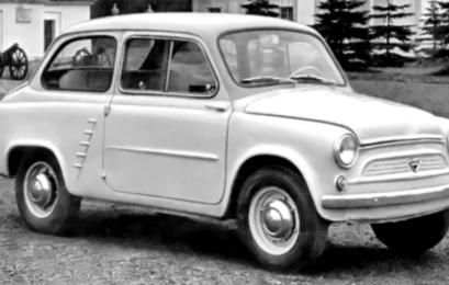Гибрид FIAT і Volkswagen: каким мог быть первый «Запорожец»