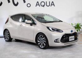 Toyota представила нову модель Aqua