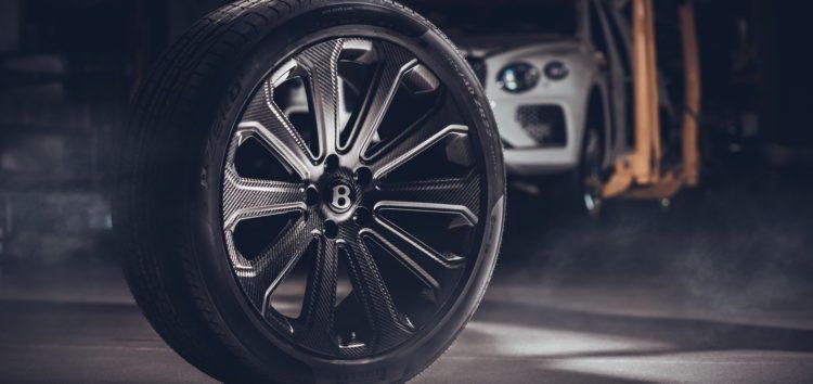 Bentayga отримала найбільші карбонові колеса