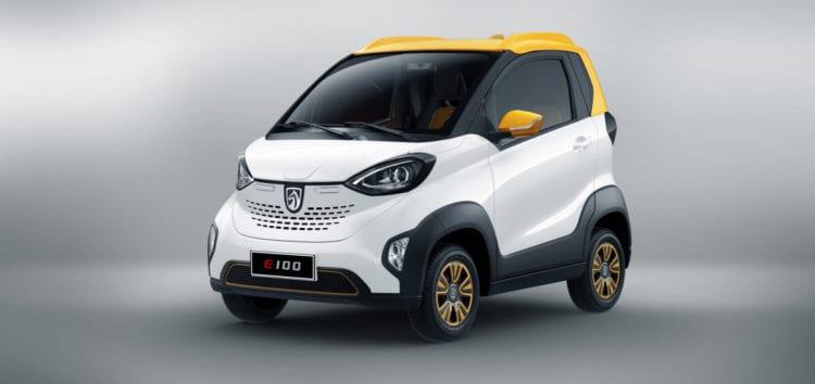 General Motors і SAIC представили бюджетний електромобіль