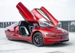 На аукціон виставили гібридний Volkswagen XL1