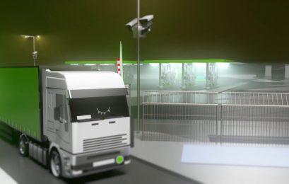 В Германии сделали безопасную парковку для грузовиков от Bosch