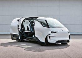 Porsche показала салон мінівена Vision Renndienst