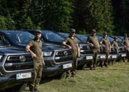 Німеччина передала нам автомобілі для захисту заповідників в Карпатах