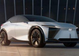 Lexus випустить новий електрокросовер у 2022 році