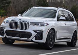 BMW показала оновлену модель X7