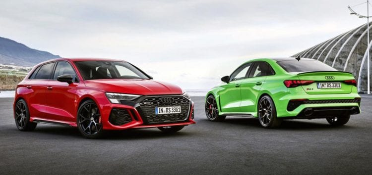 Audi презентувала нову модель RS3