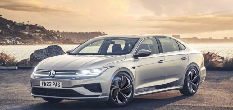 Volkswagen розповів про новий Passat B9