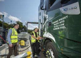 Шотландський виробник віскі заправляє свої автомобілі відходами віскі
