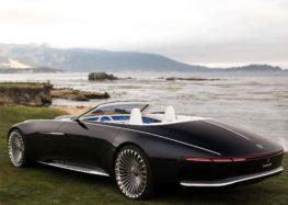 """Mercedes Maybach 6 засвітився на зйомках нового """"Бетмена"""""""