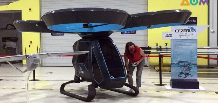 Перший літаючий електрокар випробовували в Туреччині