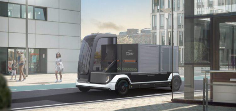 Британська компанія створила модульний електричний фургон