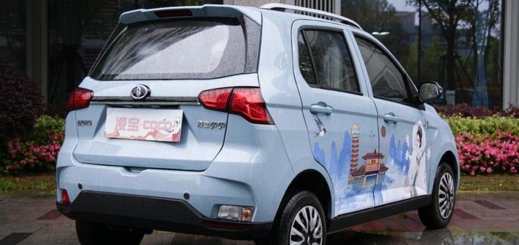 Новий електромобіль Lingbao Coco продаватимуть за дуже низькою ціною