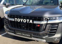 Показали спортивну версію Toyota Land Cruiser 300 GR Sport